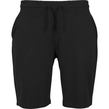 Textil Homem Shorts / Bermudas Build Your Brand BY080 Preto