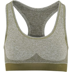 Textil Mulher Tops e soutiens de desporto Tridri TR210 Verde oliva