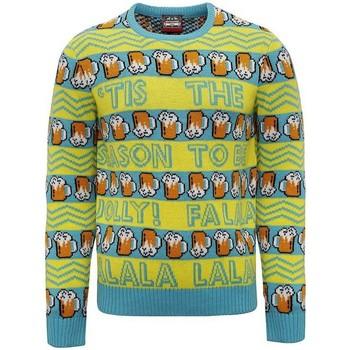 Textil Homem Sweats Christmas Shop CJ008 Amarelo/Verde