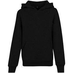 Textil Homem Sweats Build Your Brand BY117 Preto