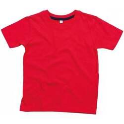 Textil Criança T-Shirt mangas curtas Babybugz BZ090 Vermelho/Navio
