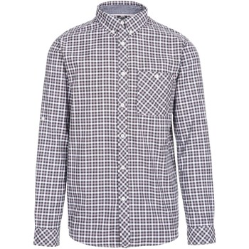 Textil Homem Camisas mangas comprida Trespass  Cinza