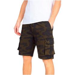 Textil Homem Shorts / Bermudas Brave Soul  Khaki