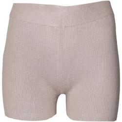 Textil Mulher Shorts / Bermudas Brave Soul  Taupe