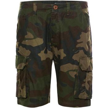 Textil Homem Shorts / Bermudas Brave Soul  Khaki Camo