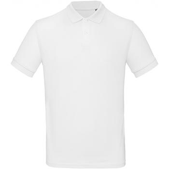 Textil Homem Polos mangas curta B And C PM430 Branco