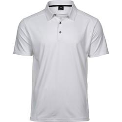 Textil Homem Polos mangas curta Tee Jays TJ7200 Branco