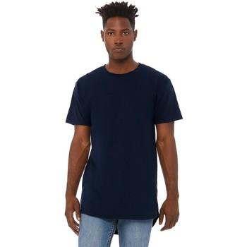 Textil Homem T-Shirt mangas curtas Bella + Canvas CA3006 Marinha