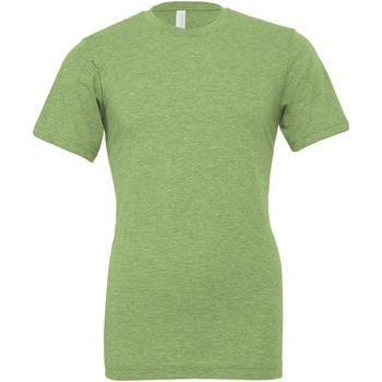 Textil T-shirts e Pólos Bella + Canvas CA3001CVC Urze Verde