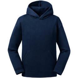 Textil Homem Sweats Jerzees Schoolgear R266B marinha francesa