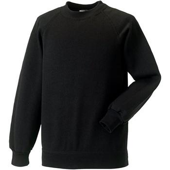 Textil Criança camisolas Jerzees Schoolgear R271B Preto