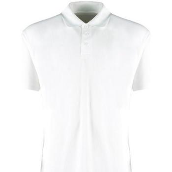Textil Homem Polos mangas curta Kustom Kit KK455 Branco