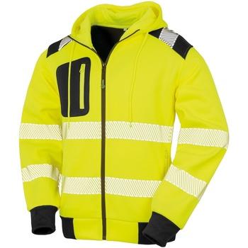 Textil Homem Sweats Result Genuine Recycled R503X Amarelo Fluorescente