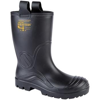 Sapatos Homem Botas de borracha Grafters  Preto