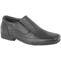 Sapatos Rapaz Mocassins Roamers  Preto