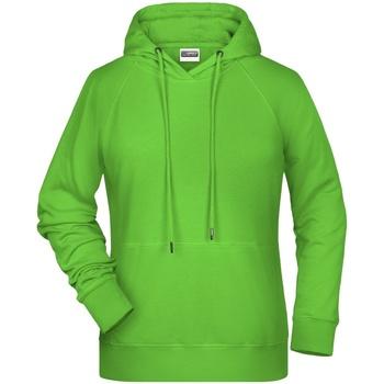Textil Mulher Sweats James And Nicholson  Verde lima