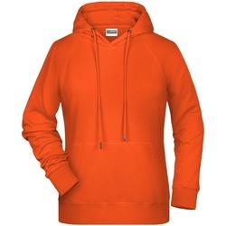 Textil Mulher Sweats James And Nicholson  Orange