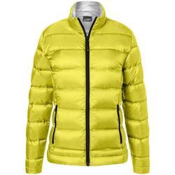 Textil Mulher Casacos  James And Nicholson  Amarelo/Prata