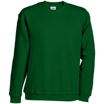 Textil Sweats James And Nicholson  Verde Escuro