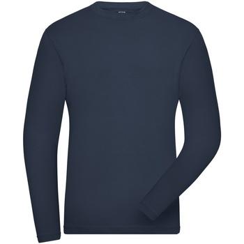 Textil Homem Sweats James And Nicholson  Marinha