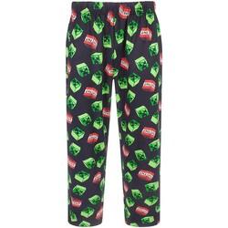Textil Homem Pijamas / Camisas de dormir Minecraft  Preto