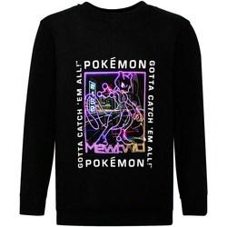 Textil Rapaz Sweats Pokemon  Preto