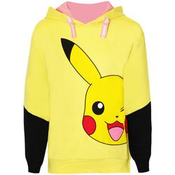 Textil Rapariga Sweats Pokemon  Amarelo
