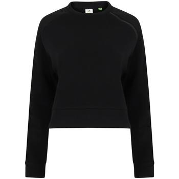 Textil Mulher Sweats Tombo TL533 Preto