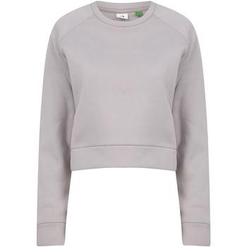 Textil Mulher Sweats Tombo TL533 Cinza Claro