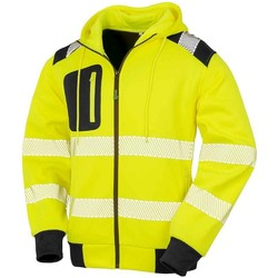 Textil Sweats Result Genuine Recycled RS503 Amarelo Fluorescente