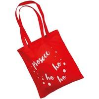 Malas Mulher Cabas / Sac shopping Christmas Shop CJ251 Vermelho