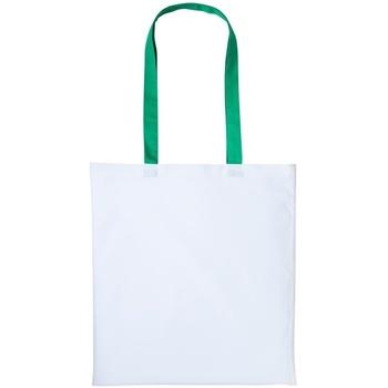 Malas Cabas / Sac shopping Nutshell RL150 Branco/Kelly Green