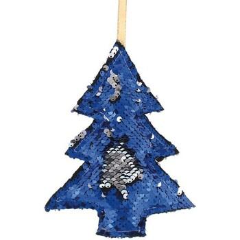 Casa Decorações festivas Christmas Shop RW7262 Azul/Prata