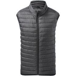 Textil Homem Casacos de malha 2786 TS038 Melange Carvão Vegetal