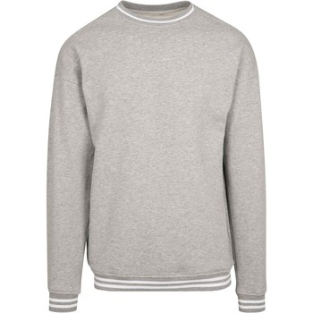 Textil Homem Sweats Build Your Brand BY104 Heather Grey/White