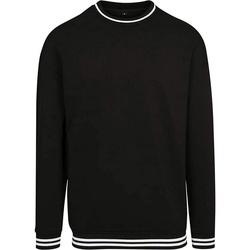 Textil Homem Sweats Build Your Brand BY104 Preto/branco
