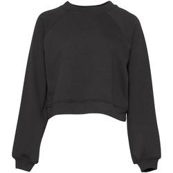 Textil Mulher Sweats Bella + Canvas BE134 Cinza Escuro