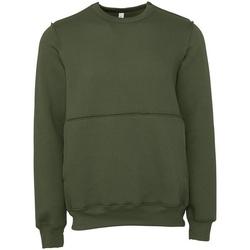 Textil Sweats Bella + Canvas BE133 Verde Militar