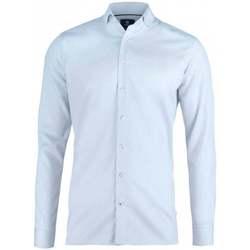 Textil Homem Camisas mangas comprida Nimbus N102M Azul claro