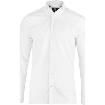 Textil Homem Camisas mangas comprida Nimbus N102M Branco