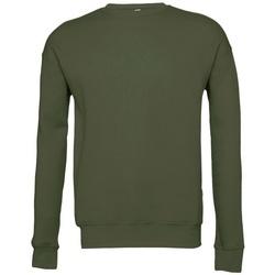 Textil Sweats Bella + Canvas BE045 Verde Militar