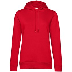 Textil Mulher Sweats B&c  Vermelho