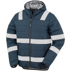 Textil Homem Casacos  Result Genuine Recycled R500X Marinha