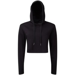 Textil Mulher Sweats Tridri TR088 Preto