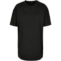 Textil Mulher T-Shirt mangas curtas Build Your Brand BY149 Preto