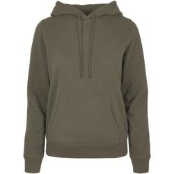 Textil Mulher Sweats Build Your Brand BB007 Azeitona