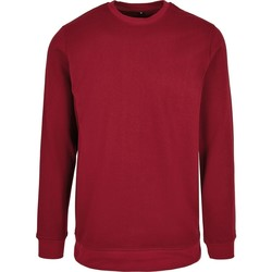 Textil Homem Sweats Build Your Brand BB003 Borgonha