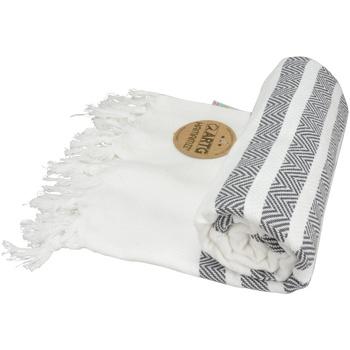 Casa Toalha e luva de banho Artg Taille unique Branco/Cinza claro