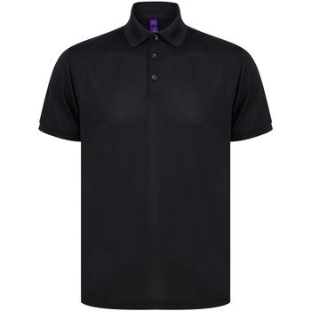 Textil T-shirts e Pólos Henbury HB465 Preto