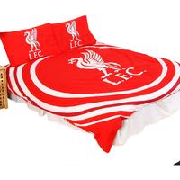 Casa Criança Capa de edredão Liverpool Fc Double SG14153 Vermelho